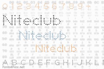 Niteclub Font