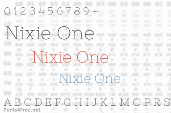 Nixie One Font