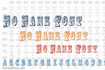 No Name Font