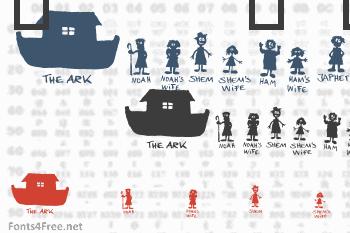 Noahs Ark Font