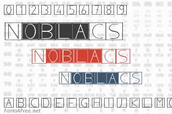 NoblaCS Font