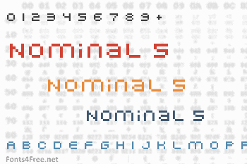 Nominal 5 Font