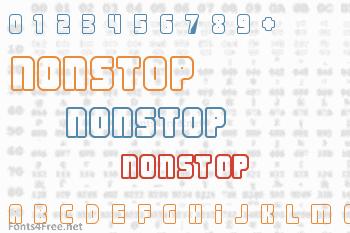 Nonstop Font