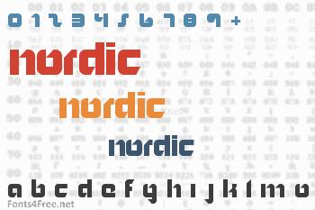 Nordic Font