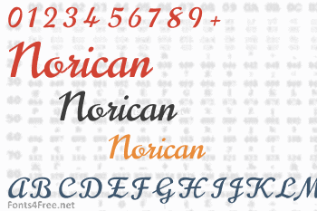 Norican Font
