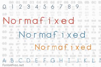 Normafixed Font