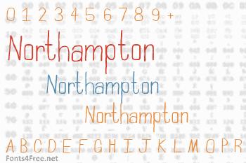 Northampton Font