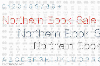 Northern Book Sale Font