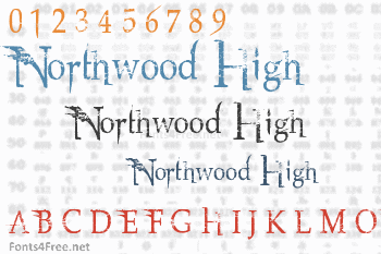 Northwood High Font