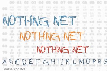Nothing Net Font