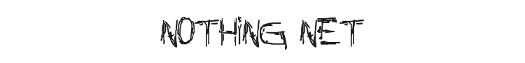 Nothing Net Font