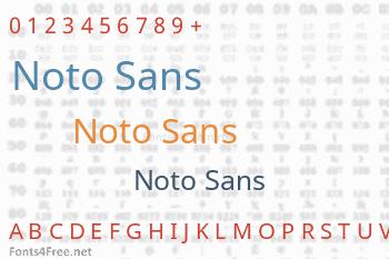 Noto Sans Font