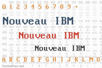 Nouveau IBM Font