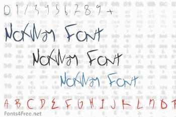 NoXWay Font