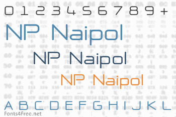 NP Naipol All in One Font