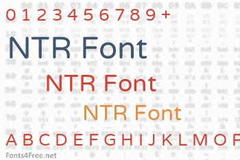 NTR Font