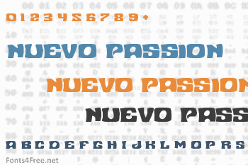 Nuevo Passion Font