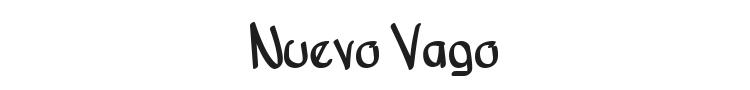 Nuevo Vago Font Preview