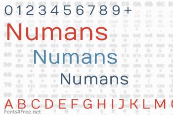 Numans Font