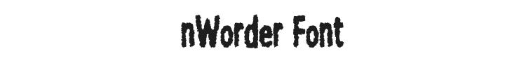 nWorder Font Preview