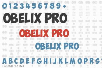 Obelix Pro Font