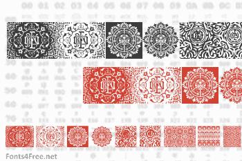 Obey Patterns Font