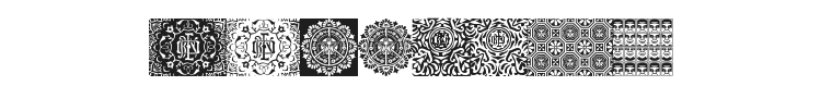 Obey Patterns Font Preview