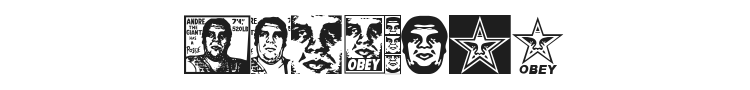 Obey Series 1 Font Preview