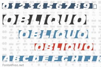 Obliquo Font