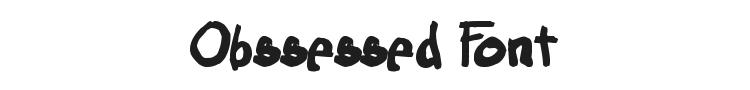 Obssessed Font
