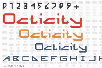 Octicity Font