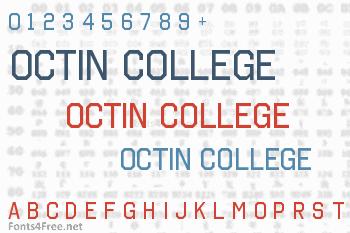 Octin College Font
