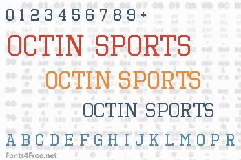 Octin Sports Font