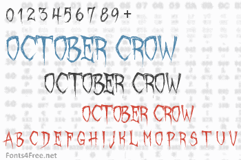 October Crow Font