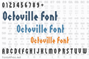 Octoville Font
