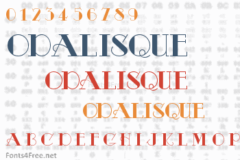 Odalisque Font