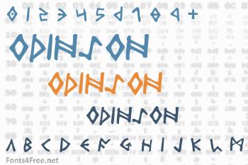 Odinson Font