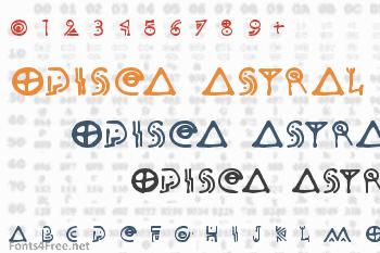 Odisea Astral Font