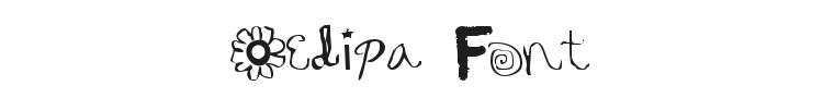 Oedipa Font Preview