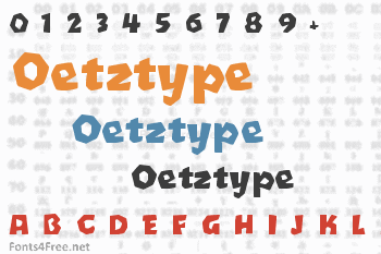 Oetztype Font