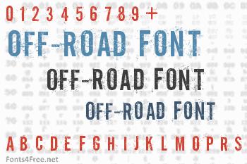 Off-Road Font