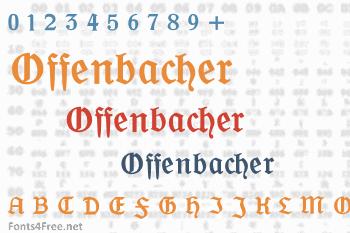 Offenbacher Schwabacher Font