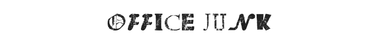 Office Junk Font
