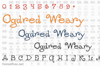 Ogdred Weary Font