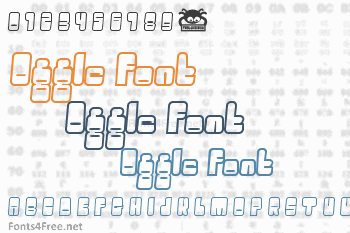 Oggle Font