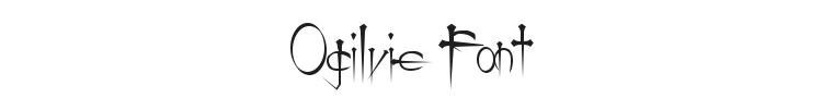 Ogilvie Font Preview