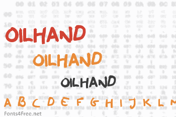 Oilhand Font
