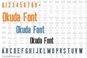 Okuda Font