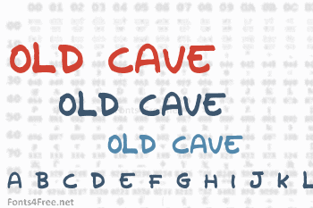 Old Cave Font