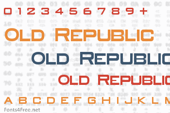 Old Republic Font